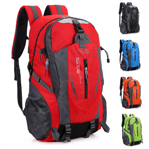 2018 Travel functional package Fashion school bag Waterproof Nylon men Backpack Bag women Travel Bag Rucksack trekking bag