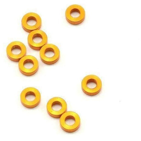 T4 Alu Shim 3X6X2.0MM - Orange Or Black (10)