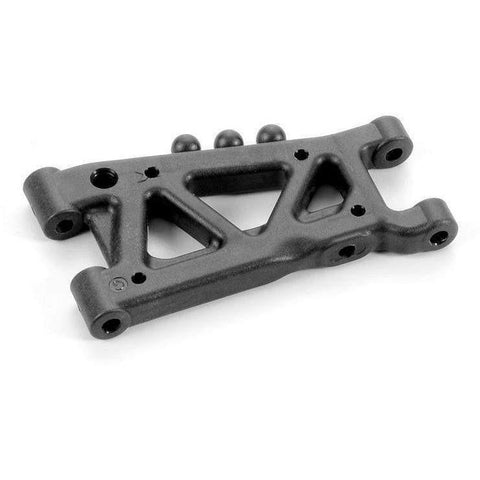 XRAY T4 Rear Suspension Arm - Graphite - 1-Hole