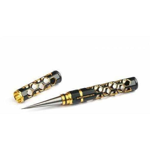 Arrowmax Small Reamer with End Cap.  Black Golden Edition.