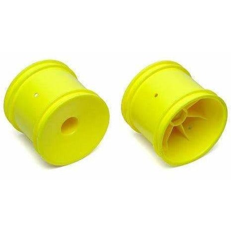 Team Associated Yellow Truck 12mm Hex Wheels.