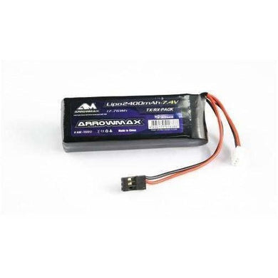 Arrowmax 2400Mah Lipo for TX/RX.