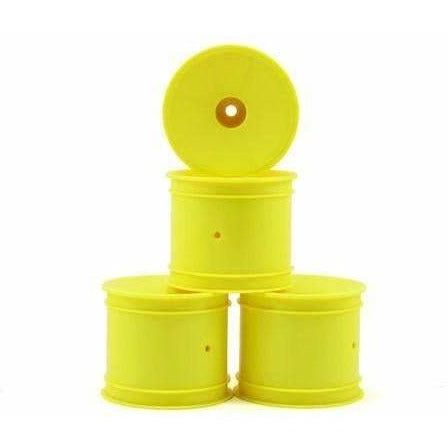 JConcetps 12mm Hex Wheels in Yellow.