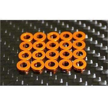 RC Mission Orange Shim Pack.  20pcs