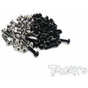 Tworks 64 Titanium and Alloy Screw Sets
