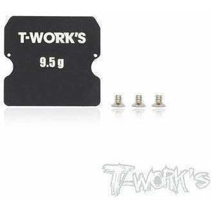 Tworks Alumn Chassis Weight for B6.  9.5G