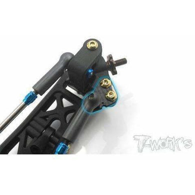 Tworks Graphite Steering Block Arm Set for B6 Series