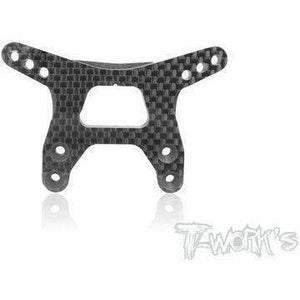Tworks Graphite Front Gullwing Shock Tower