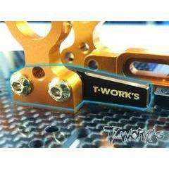 TWorks Xray T4 Brass Battery Backstop