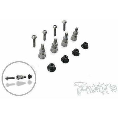TWorks Titanium Shock Stand Off for B6 Series