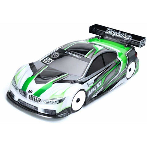Bittydesign M410 Pre-Cut 1/10 Touring Car Body (190mm) (Light Weight) Select Chassis in menu.