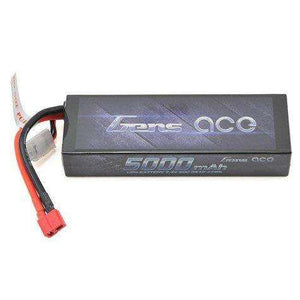 Gens Ace 5000mah 50C 2S lipo with Deans connector.