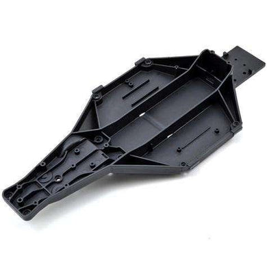 Traxxas Slash 2wd LCG Chassis.  Black in color