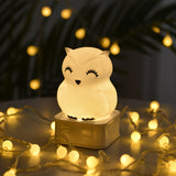 TONGER® Cute Mini Silicon Night Light