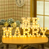 TONGER® Letter Marquee Light