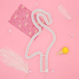 TONGER® Pink Flamingo Wall LED Neon Light Sign