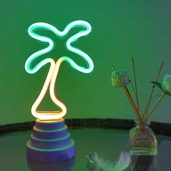 TONGER® Coconut Tree Table/Wall LED Neon Light