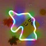 TONGER® Colorful Unicorn Wall LED Neon Light Sign