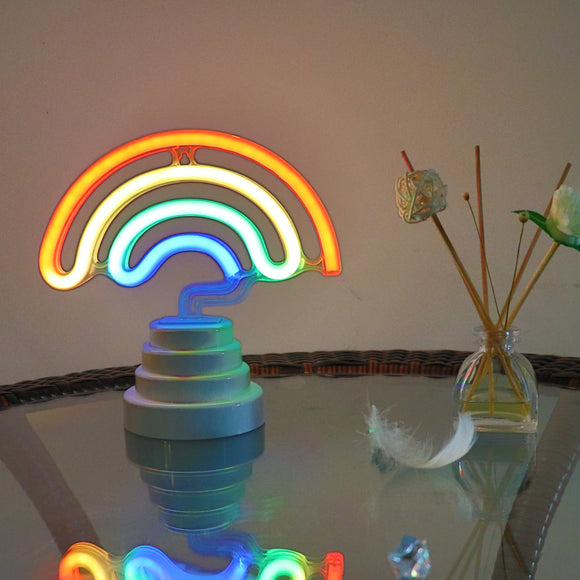 TONGER® Rainbow Table/Wall LED Neon Light