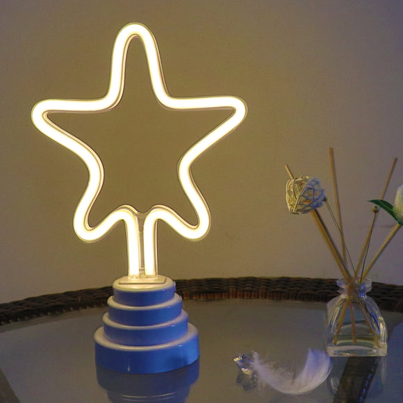TONGER® Star Table/Wall LED Neon Light