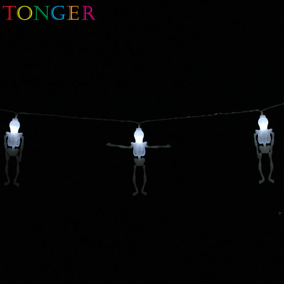 TONGER® Ghost Plastic String Lights