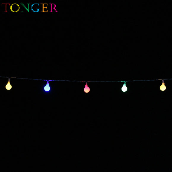TONGER® Small bulb LED Plastic String Lights