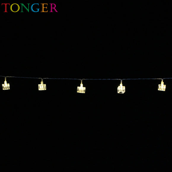 TONGER® Ice cube Plastic String Lights