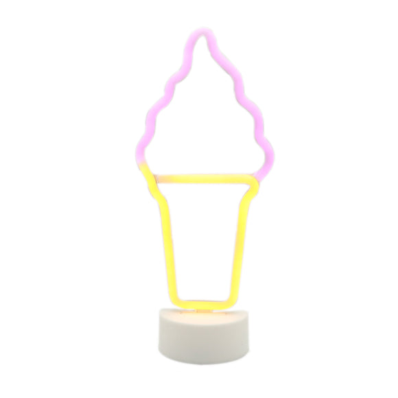 TONGER® Ice Cream Table LED neon light