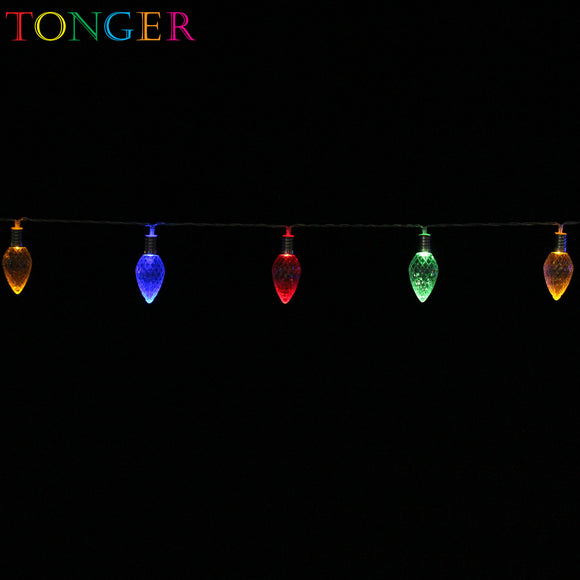 TONGER® Pine Conel Plastic String Lights