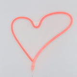 TONGER® Red Heart Wall LED Neon Light Sign