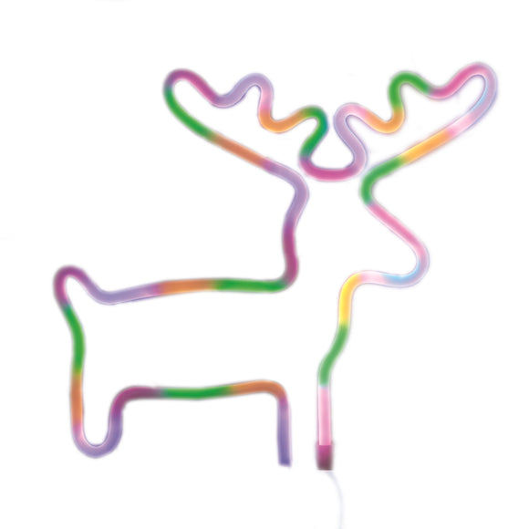 TONGER® Colorful Elk Wall LED neon light