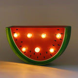 TONGER® Watermelon Paper Marquee Light