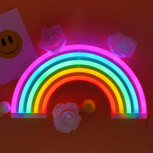 TONGER® Rainbow Wall Led Neon Sign