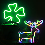 TONGER® Green Lucky Leaf Wall LED neon light