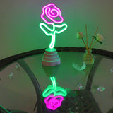 TONGER® Flower Table/Wall LED Neon Light