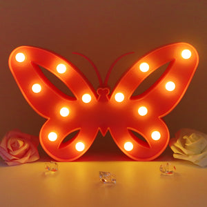 TONGER® Pink Butterfly Modeling Light