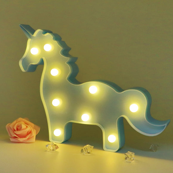 TONGER® Blue Unicorn Modeling Light