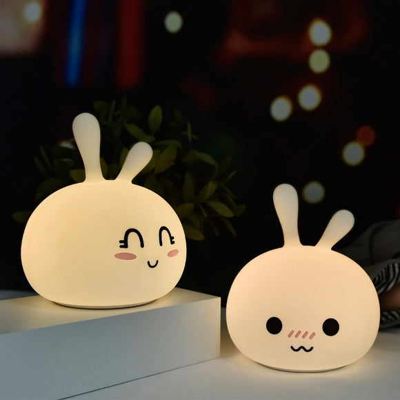 TONGER® Cute Bunny silicon light