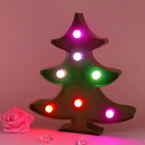 TONGER® Color Changing Christmas Tree LED Marquee Light