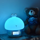 TONGER® Bunny Alarm Clock With Light