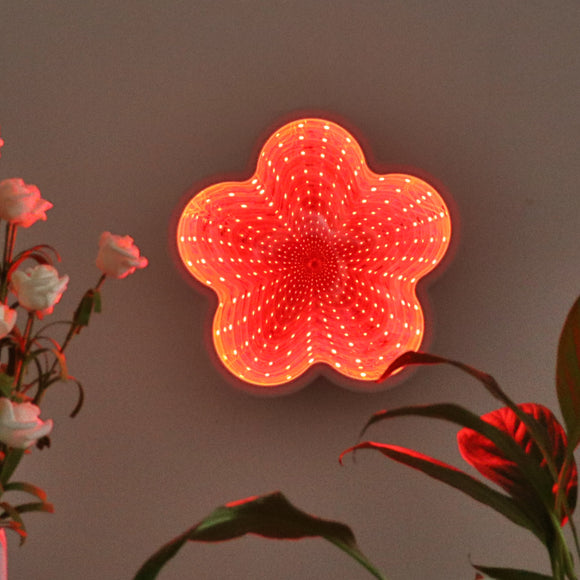 TONGER® Flower LED Infinity Mirror Lamp