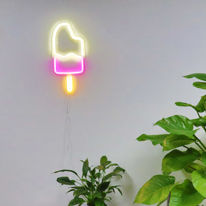 TONGER® Popsicle wall LED neon sign