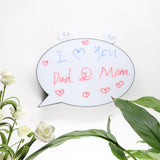 TONGER® Round Speech Bubble Lightbox
