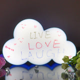 TONGER® Blue Cloud Writable Lightbox