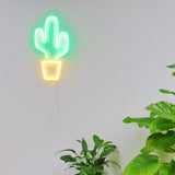 TONGER® Cactus wall LED neon sign