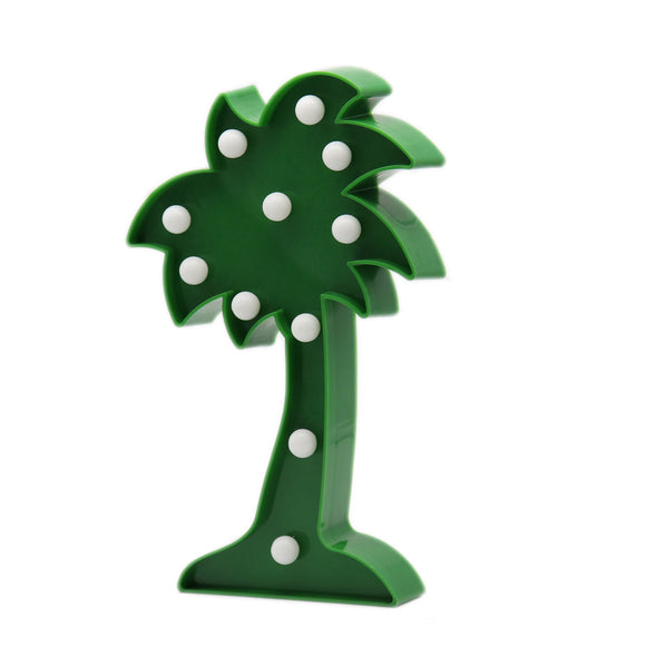 TONGER® Coconut Tree LED Marquee Light