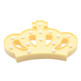 TONGER® Yellow Crown LED Marquee Light