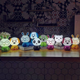 TONGER Cute Touch Switch Dimmable chargeable Kids Cartoon Panda Table Light