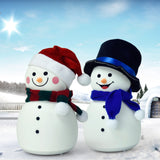 TONGER® Snowman Silicon Light With Music