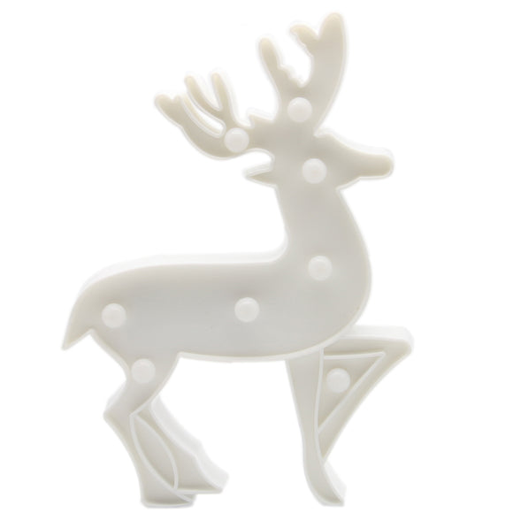TONGER® White Elk LED Marquee Light